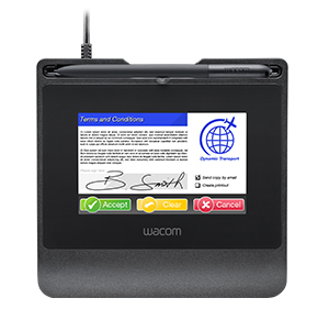 Tableta de firma digital manuscrita olografa verificable Wacom STU540