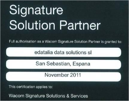 Wacom Signature Solutions Partner